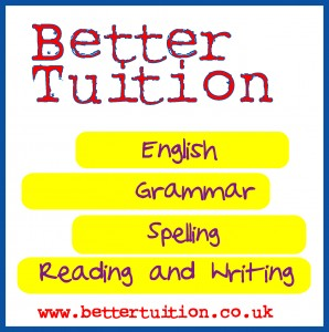 Better Tuition's team of expert teachers can help your child with all aspects of English.