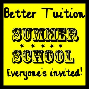Book your place on Better Tuition's Summer School.