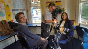 Our Centre Director, Paul Syrett, was interviewed by Sejal Karia of ITN.